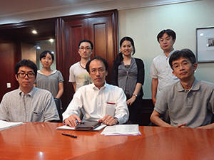 中国出土文献研究会メンバー