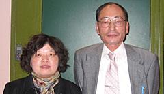 郭梨華教授と浅野教授