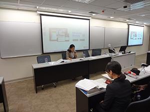 香港城市大学において研究発表2