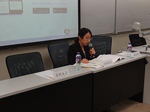 香港城市大学において研究発表3