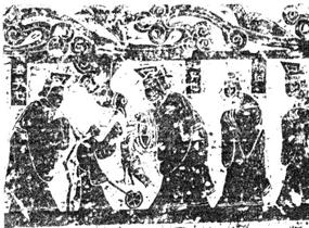 図83 斉山画像第3石 第一層(部分)